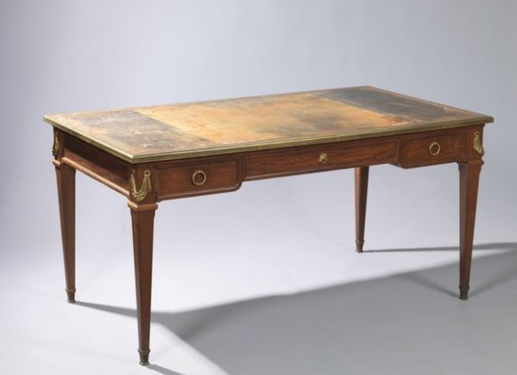 bureau sormani acajou mahogany desk french expertise estimation appraisal valuation auction