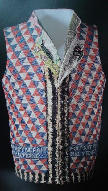 Expert mode, costume, tissu ancien