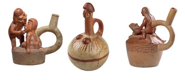 Pre-columbian erotic pottery