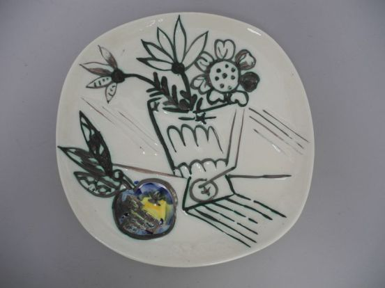 Picasso assiette plat pichet expertise estimation valuation appraisal auction