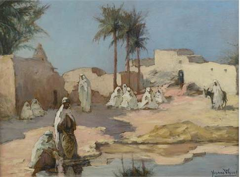 expertise estimation tableau orientaliste valuation appraisal orientalist painting