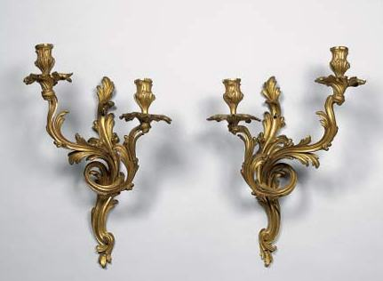 Candlestick chandelier online appraisal valuation for Applique murale exterieur ancienne