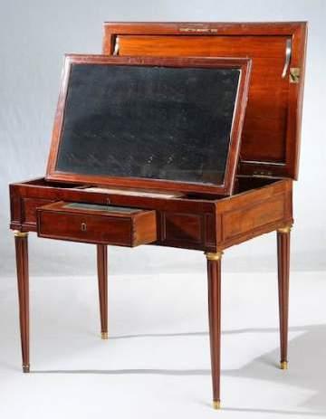 Authenticit estimation expert meubles tableaux for Meuble coiffeuse ancienne