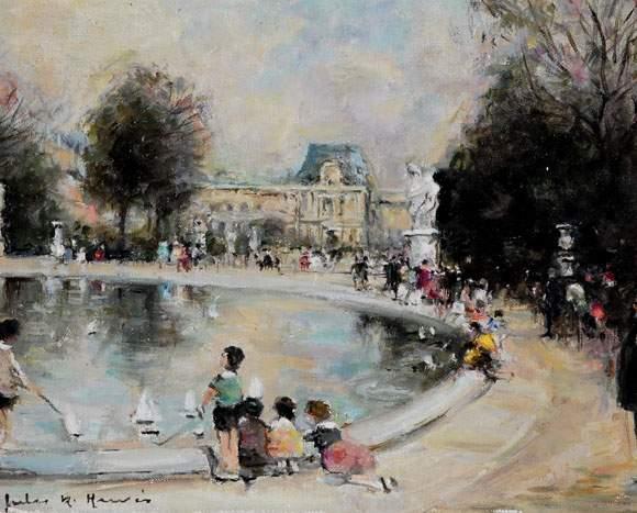 Authenticite european fine art specialists valuation - Jardin du luxembourg enfant ...