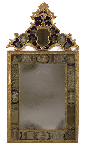 Expertise miroir ancien expertise vente aux ench res for Miroir venitien paris