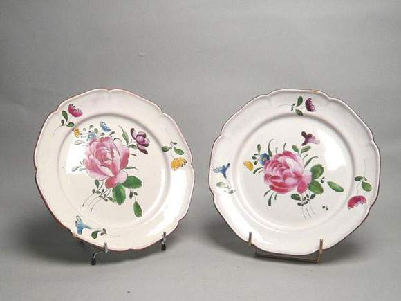 Niderviller Ceramics Faience Porcelain French Valuation