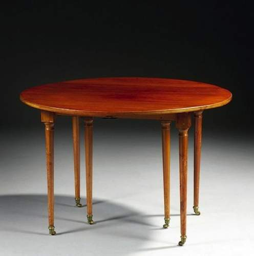 Table a ecrire chiffonniere tronchin expert cote valeur for Salle a manger louis xvi
