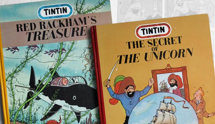 bande dessinee tintin a vendre